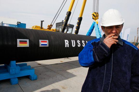 USA fordømmes av EU, Tyskland og Russland etter sanksjoner mot Putins prestisjeprosjekt