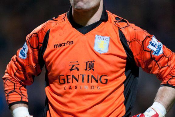 Villa låner ut Shay Given