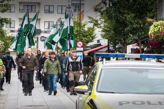 Politiet om demonstrasjonen i Kristiansand: - Vi hindret at det oppstod vold. Det er det viktigste.