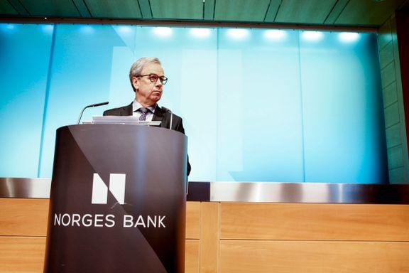 Nordea tror det kan komme syv rentehopp innen 2020