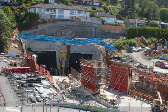 100 kameraer skal forebygge overfall i rekordlang sykkeltunnel i Bergen