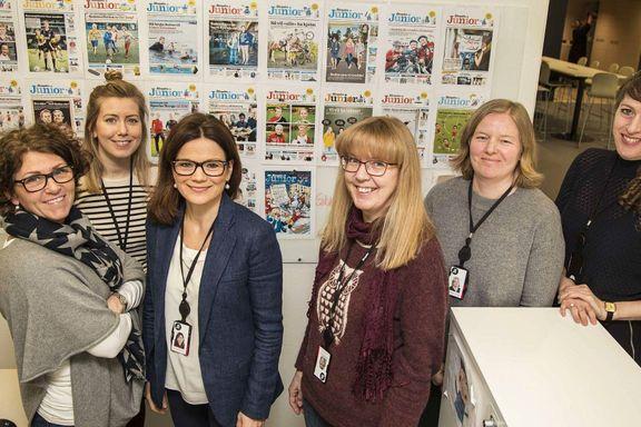 Aftenposten Junior kåret til «International newspaper of the Year» i London