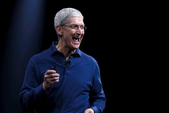 Apple-sjefen i harnisk