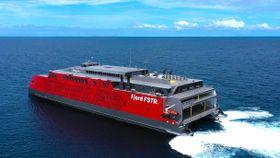 16 norskeide skip står fast i Suezkanalen