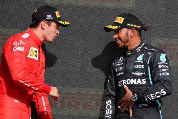 Lewis Hamilton innser at det aldri blir noe av «drømmen» Ferrari
