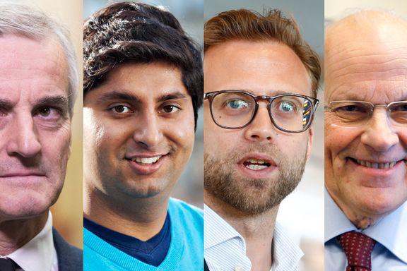 De er rikest på Stortinget: Tre kjente politikere - og én fersk 29-åring