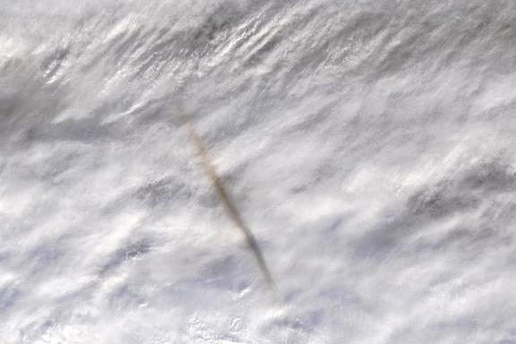 Hadde denne asteroiden truffet land, ville skadene blitt enorme