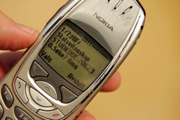 25 år siden verdens første SMS