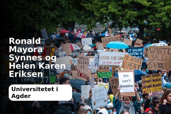 Norske universiteter må også ta opp kampen mot rasisme