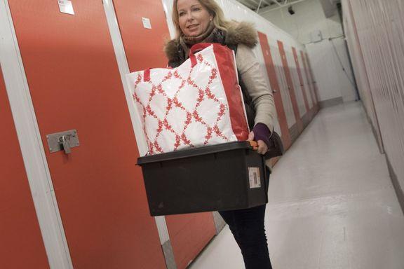 Krav om innvendig bod fjernet: Monica betaler 3000 kroner i måneden for ekstra lagringsplass
