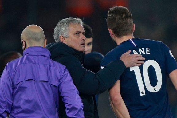 Nedtur for Mourinho og Tottenham: Gikk på tap og Kane måtte ut med skade