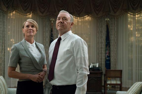 Frank og Claire er tydelig inspirert av Trump i ny sesong av House of Cards. Men klarer de å lage like mye drama?