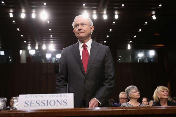 Sessions: Jeg samarbeidet ikke med Russland i valgkampen