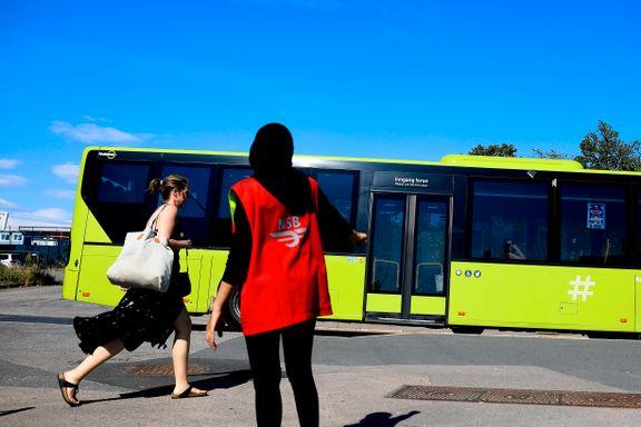Det blir buss for tog frem til 2032. Minst.