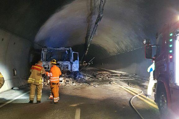Har funnet sannsynlig årsak til brann Oslofjordtunnelen – arbeidene med reparasjoner i gang