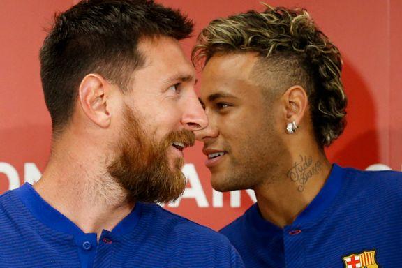 Neymar hyller Messi i rørende videoavskjed: – Vil aldri igjen se noen som ham så lenge jeg lever