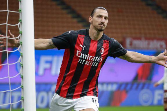 To Zlatan-mål holdt ikke: Milan avga poeng for første gang denne sesongen