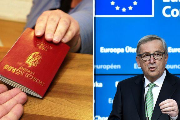 Nå skal også norske pass sjekkes grundig på grensen. Her er tiltakene som skal gjøre Europa tryggere.