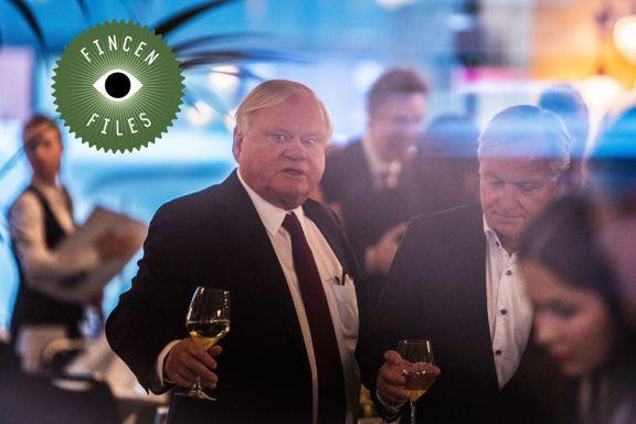 Da Fredriksen-selskapene ble anklaget for oljejuks, fikk storbanken panikk