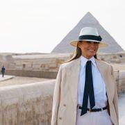 Melania Trump: – Jeg er ikke alltid enig i det han tvitrer