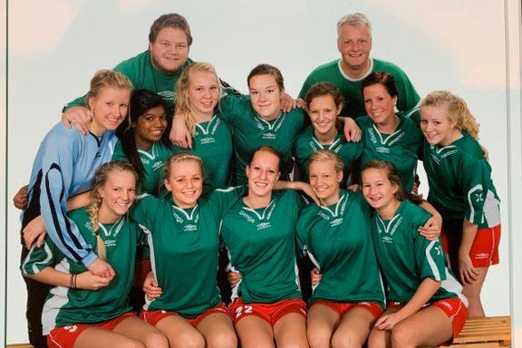 På dette bildet er en av Norges beste i håndball-EM