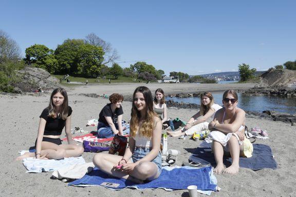 I sommervarmen blir det folksomt her. – Let etter nye steder å bade