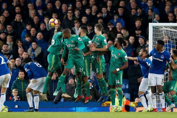 Prisparkperle reddet Everton seks minutter på overtid