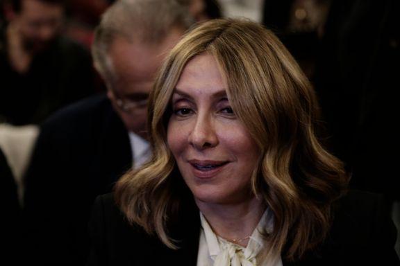 Onsdag var hun på mannens pressekonferanse i Beirut. Nå vil Japan ha henne etterlyst av Interpol.