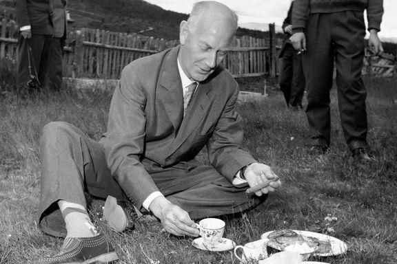 Lahlum skal skrive biografi om Einar Gerhardsen