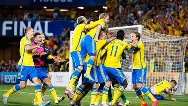 Fotballsensasjon: Sverige ble europamestere etter straffedrama