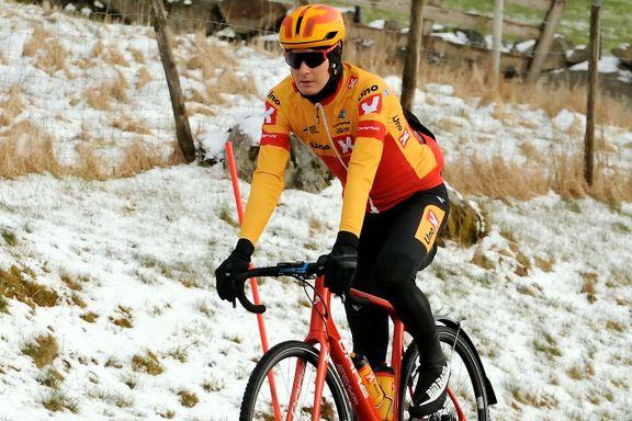 Han er kaptein for et norsk sykkellag som begynner å imponere verden