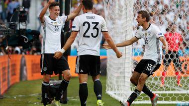 Draxler glitret da Tyskland herjet med Slovakia