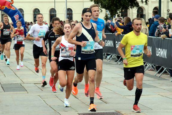 Jack Waitz slår alarm etter Oslo maraton: – Råder mental tretthet
