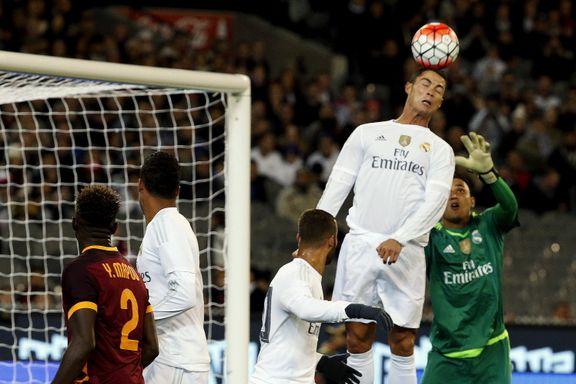 Ødegaard byttet ut i Real Madrid-tap