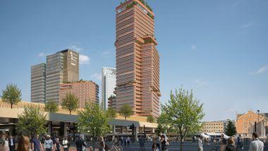 Bygget blir Norges desidert høyeste. Nå får vi vite hvor høyt Oslo-politikerne faktisk vil gå.