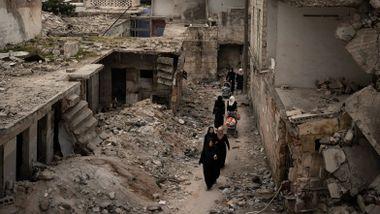FN fikk 30 milliarder mindre enn de ba om til Syria