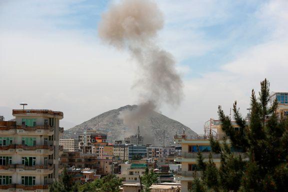 Taliban-angrep mot amerikansk organisasjon i Kabul