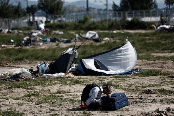 Migrantleir på grensen mellom Hellas og Makedonia er tømt