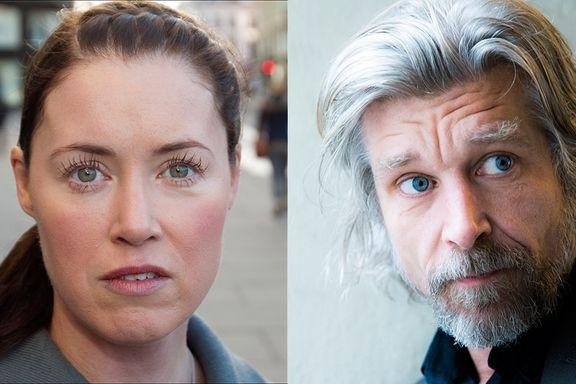 Karl Ove Knausgård og Linda Boström Knausgård skiller lag