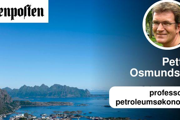Mohn tryller bort milliardverdier fra oljeleting i Lofoten   Petter Osmundsen