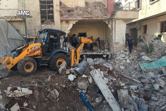 Flere drept i nytt angrep mot sykehus i Aleppo