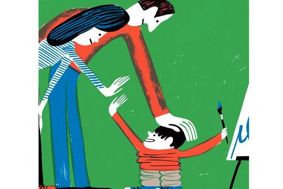 Feil type ros kan gjøre barna engstelige. Her er de beste måtene å rose på.
