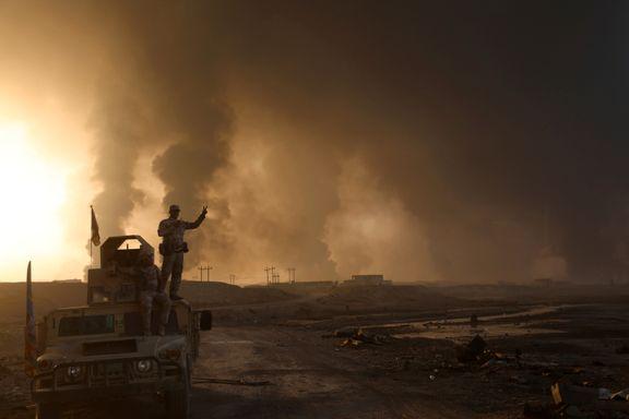 Har en USA og Saudi-Arabia en hemmelig plan for IS-medlemmer som drives ut av Mosul?