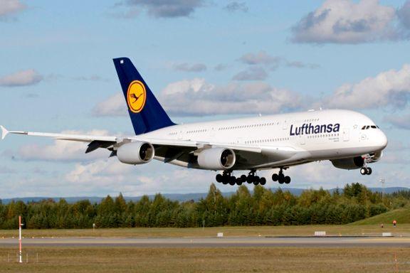 Lufthansa med rekordunderskudd