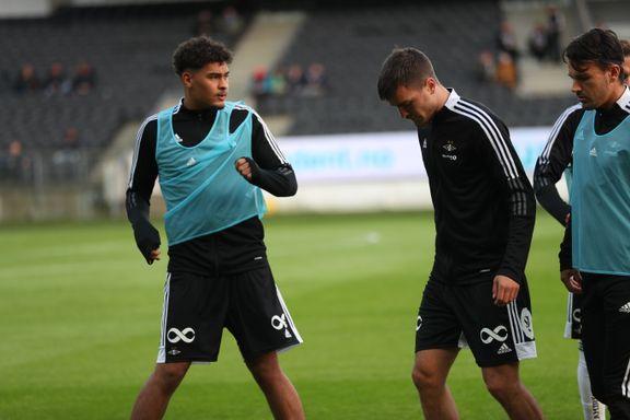 Hareide bekrefter skade på RBK-spissen: Lar to unggutter debutere fra start