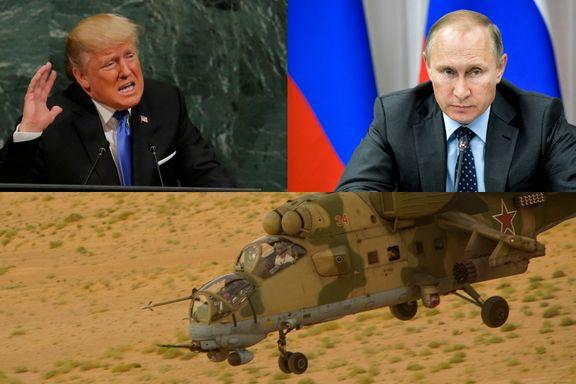 Russerne sier de er blitt beskutt to ganger – truer med å skyte på amerikanere i Syria «med alle tilgjengelige våpen»