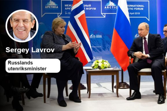 Russlands utenriksminister takker – og advarer – Norge