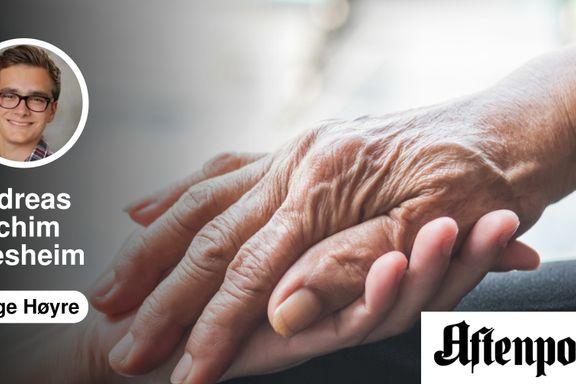 Antall demente øker, mens oljeinntektene vil synke. Vi har ingen tid å miste