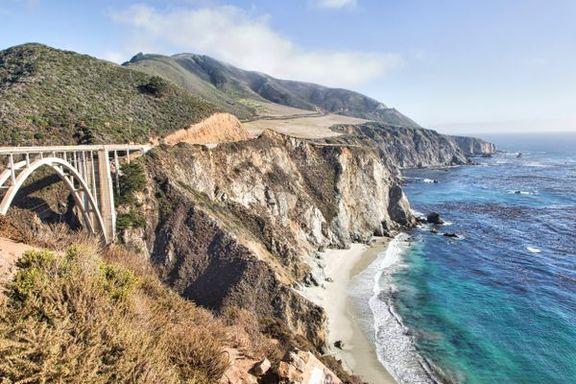 En roadtrip fra LA til San Francisco kan være moro for hele familien. Bare sjekk på forhånd om veien faktisk er der.