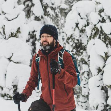 Stadig færre nordmenn går på ski: Martin Kvist (47) velger en annen løsning for å komme seg ut i marka